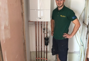 New-Worcester-boiler-install-by-Celteco-plumbers